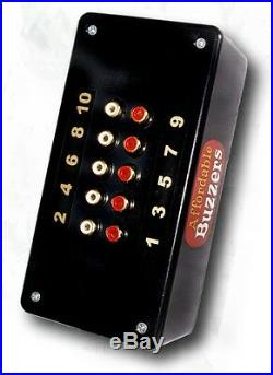 10-Player BIG DADDY Table-Top Quiz Game Buzzer System with 10ft. Wires
