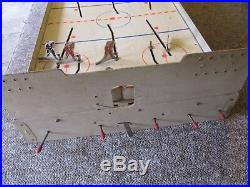 1960's Munro Table Top Hockey Game with TWO Scoreboards. RARE