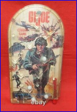 1964 Vintage Gi Joe Joezeta Child Size Action Soldier Table Top Pinball Game