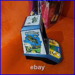 1981 Coleco Galaxian Tabletop Arcade Game Tested & Working in Original Box
