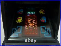 1981 Vintage Coleco Pac-man Mini Arcade Game Table Top Midway With Box