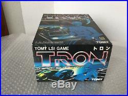 1981#rare Vintage Disney Tron Tomy Led Lsi Table Top Game Handheld#nib