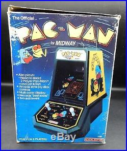 1981 vintage Coleco PAC-MAN tabletop electronic game PACMAN with original box
