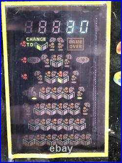 1983 Qbert Vintage Electronic Table Top Arcade Game by Parker Brothers WORKS