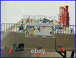 1995 Nerf BASH Back Alley Street Hockey Table Top Set Game Rare Vintage Collecti