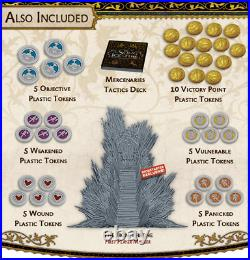 A Song Of Ice & Fire Tabletop Miniatures with ALL Stretch Goals + ALL Exclusives