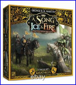 A Song of Ice & Fire Tabletop Miniatures Game Baratheon Starter Set