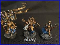 Age of Sigmar Dominion Stormcast Eternals painted Tabletop ready