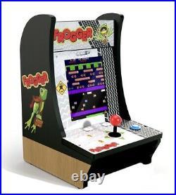 Arcade1up FROGGER +TIME PILOT Countercade Tabletop 2 in 1 Home Video Arcade Game