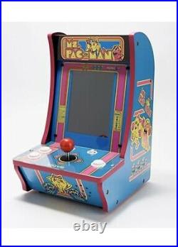 Arcade1up MS PAC-MAN + Super PacMan Countercade Tabletop 2 in 1 Game Pink 16