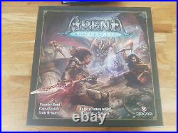 Arena the Contest Tabletop Miniatures Board Game Kickstarter with extras
