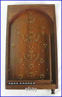 Bagatelle Traditional Wooden Crafted Tabletop Pinball Game (Christmas Gift)