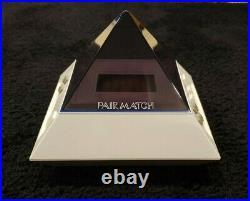 Bandai PAIR MATCH electronic handheld game vintage RARE WHITE tabletop version