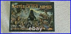 Battle Of Five Armies Tabletop Wargame Games Workshop Sealed New
