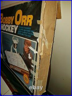 Bobby Orr 1973 Munro Gold Cup Table Top Hockey Game Orig Box Read