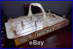 Bobby Orr Munro Gold Cup Hockey game Table top Hockey Game 1973 Black Ends