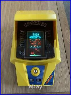 Boxed CGL Frogger Vintage 1980 Tabletop Electronic Game Extremely Good Cond
