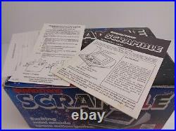 Boxed Grandstand Scramble Battery Handheld 1982 Vfd Tabletop Electronic Game