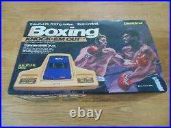 Boxing Knock Em Out Bambino Tabletop Retro Game 1979 New Old Stock The Best Rare