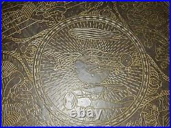Brass 1928 Amsterdam Olympic Games Olympiade Art Deco Sports Table top