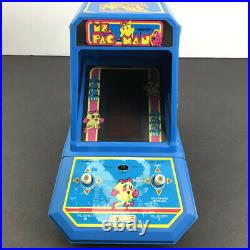 COLECO MS. PACMAN Tabletop Electronic Game 1982 Mini Arcade MS. PAC-MAN Working