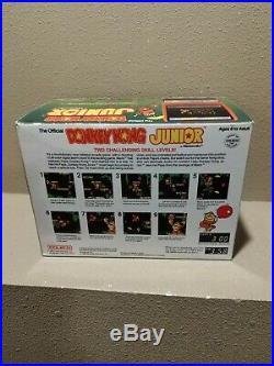 COLECO NINTENDO aRCADE TABLETOP GAME DONKEY KONG JR Junior In the box CIB