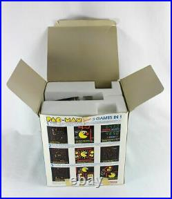 COLECO PAC MAN Vintage Electronic Handheld tabletop Arcade video game IN BOX