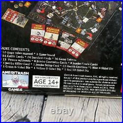 Camp Grizzly Board Game OOP Horror Tabletop Game Rare Kickstarter Game