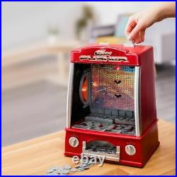 Coin Pusher Machine Arcade Game Novelty Table Top Penny Falls Toy Gift Fun Kids