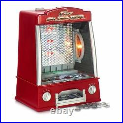 Coin Pusher Slot Machine Arcade Game Novelty Table Top Penny Falls Toy Gift Fun