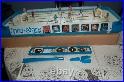 Coleco/ Eagle Pro Stars hockey game 1970 Tin players table Top hockey Game