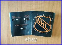 Coleco NHL Stanley Cup Playoff Tabletop Hockey Game Original Box