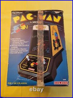Coleco Pac-Man Table Top Game with Box and Power Adapter