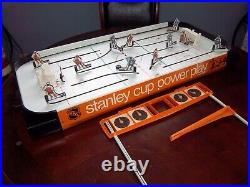 Coleco Stanley Cup Hockey Game 1974 table top hockey game with Box