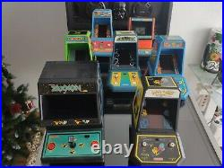 Coleco TABLETOP Full 7 pieces Collection. Very Rare. Game & Watch Table top G&W