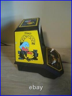 Coleco Vintage Pac-man by Midway Mini Arcade Table Top Video Game 1981