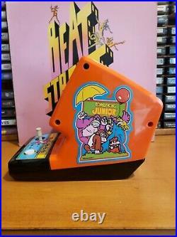 Coleco electronic tabletop mini arcade donkey kong jr game, refurbished