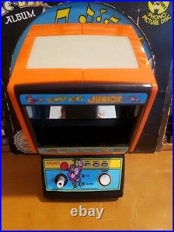 Coleco electronic tabletop mini arcade donkey kong jr game, refurbished