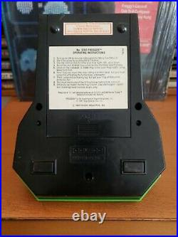 Coleco electronic tabletop mini arcade frogger game, refurbished