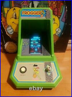 Coleco frogger tabletop electronic mini arcade game. Taken apart. New decals