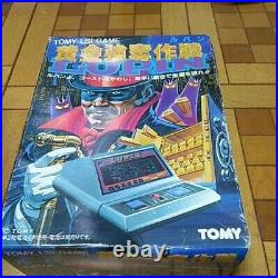 Console LSI Game Table Top The Great Golden Treasure Lupin jap used 1981 RARE