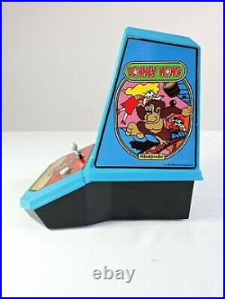 DONKEY KONG 1981 Coleco Table Top Mini Arcade Game WORKS vintage Nintendo video
