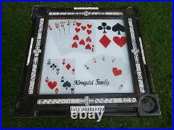 Domino Tables by Art with Card Table Top Graphics