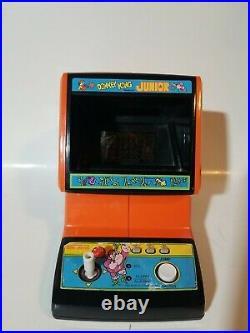 Donkey Kong Jr. Coleco Tabletop Mini Arcade Game Vintage Nintendo 1983 (works)