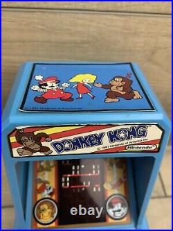 Donkey Kong Vintage Coleco Nintendo Table Top Mini Arcade 1981 Tested And Works