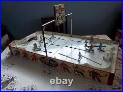 Eagle Power Play Hockey Game 1960 Table Top Hockey Game