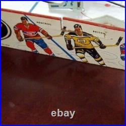 Eagle Power Play hockey game 1960 table top hockey, Table Hockey Games