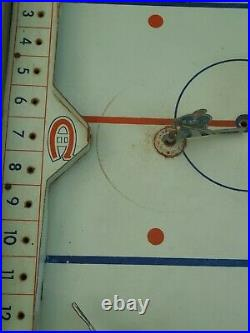 Eagles Toys 1954 NHL Pro Hockey Table Top Game, Montreal Canadien edition