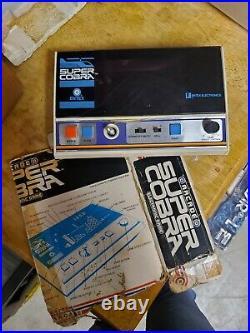 Entex Super Cobra handheld/tabletop video game WORKING -RARE VINTAGE 1982 game