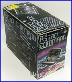 Epoch Gig Electronics Astro Command Old Stock 1982 Tabletop Handheld Game Watch